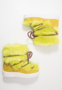 Colors of California - Lace-up ankle boots - lime - 1