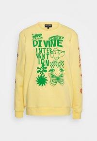 DINVINE INTENTIONS - Sweatshirt - yellow