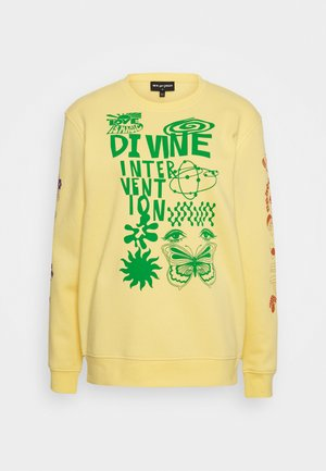 DINVINE INTENTIONS - Sweatshirt - yellow