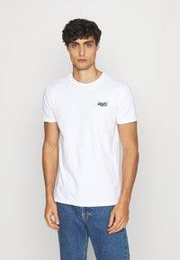 Superdry - VINTAGE TEE - T-shirt - bas - optic - 1