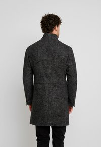 Marc O'Polo - COAT LONG SLEEVE - Manteau court - dark grey melange - 2
