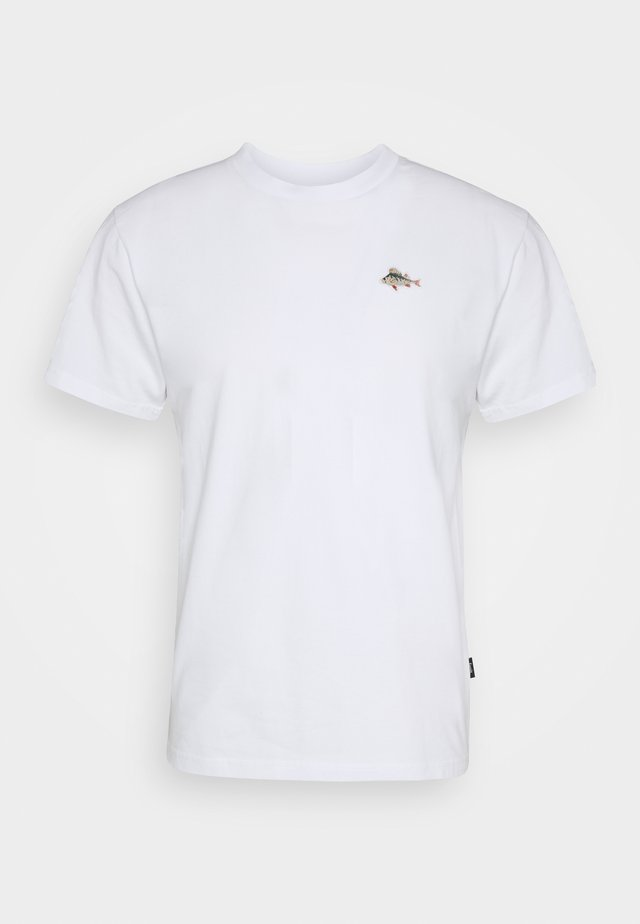 FISH - T-shirt basic - white