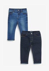 Next - 2 PACK - Slim fit jeans - blue - 0