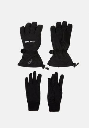 SCOUT GLOVE SET - Gloves - black
