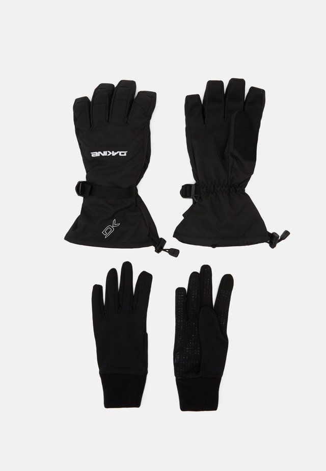 SCOUT GLOVE SET - Sormikkaat - black