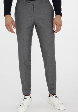 BULL SPLIT - Suit trousers - grey