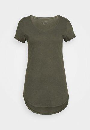 TEE - T-shirt basic - khaki
