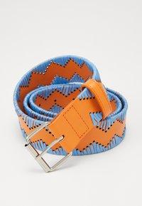 M Missoni - CINTURA - Bælter - light blue/orange - 3