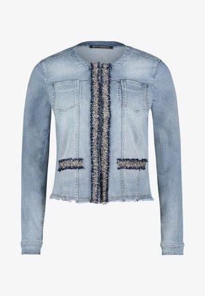 Denim jacket - blue bleached denim