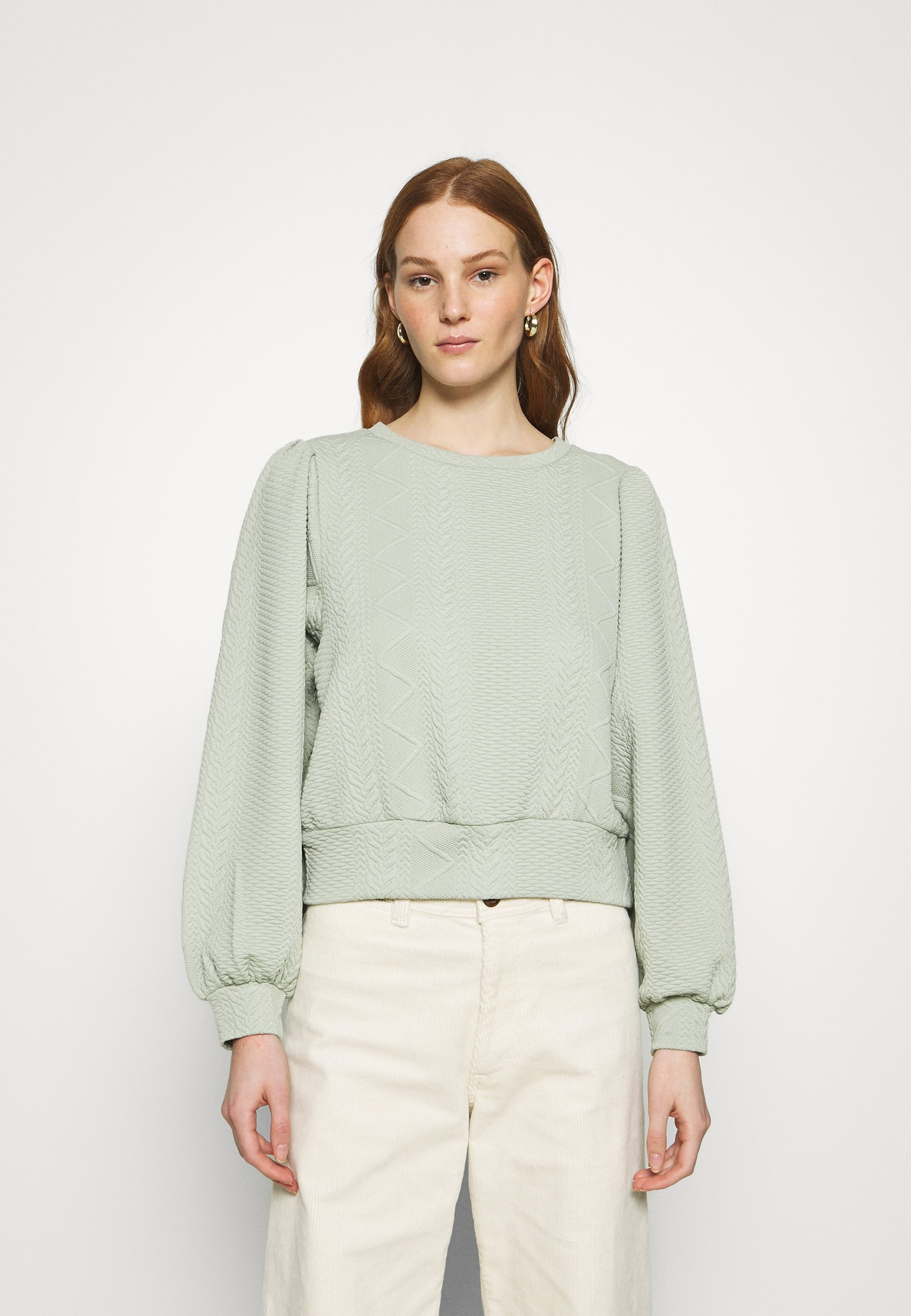 Women ONLCABLE O-NECK - Long sleeved top