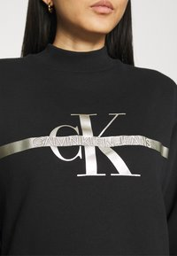 Calvin Klein Jeans - MONOGRAM  - Sweatshirt - black - 5