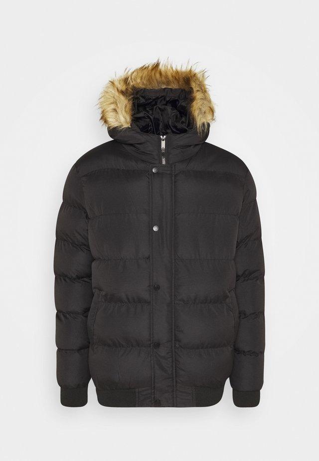 SHORT - Winterjas - black