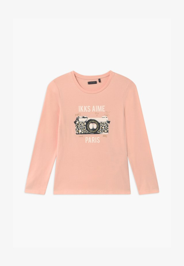 GOLD PARIS CAMERA - Long sleeved top - rose poudré