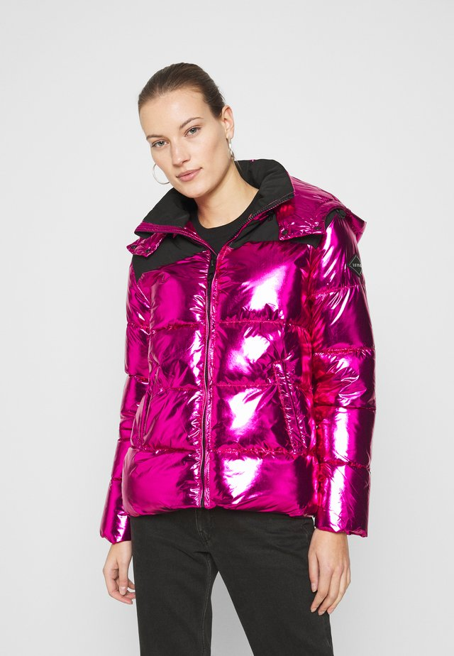 OUTERWEAR - Winter jacket - fuxia