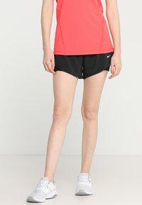 Nike Performance - SHORT 2-IN-1 - Korte sportsbukser - black/white - 0