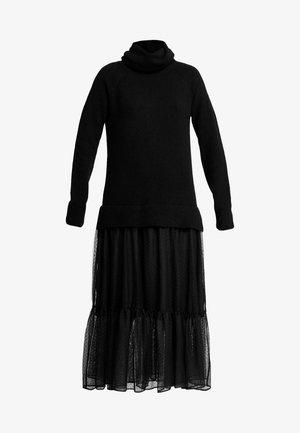 TULA DRESS - Denní šaty - black
