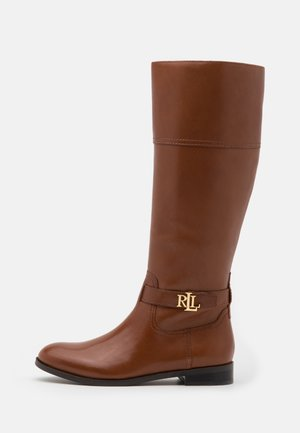BAYLEE - Boots - deep saddle tan