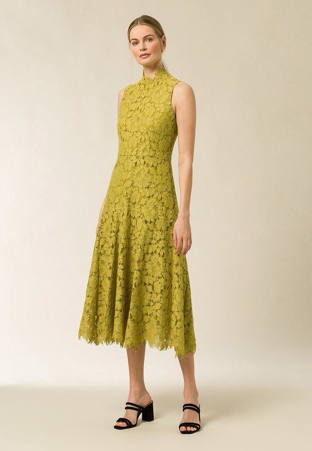 Cocktail dress / Party dress - mustard yellow