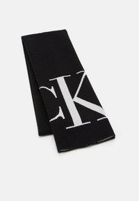 Calvin Klein Jeans - SCARF MONOGRAM - Šála - black - 0