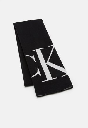 SCARF MONOGRAM - Szal - black