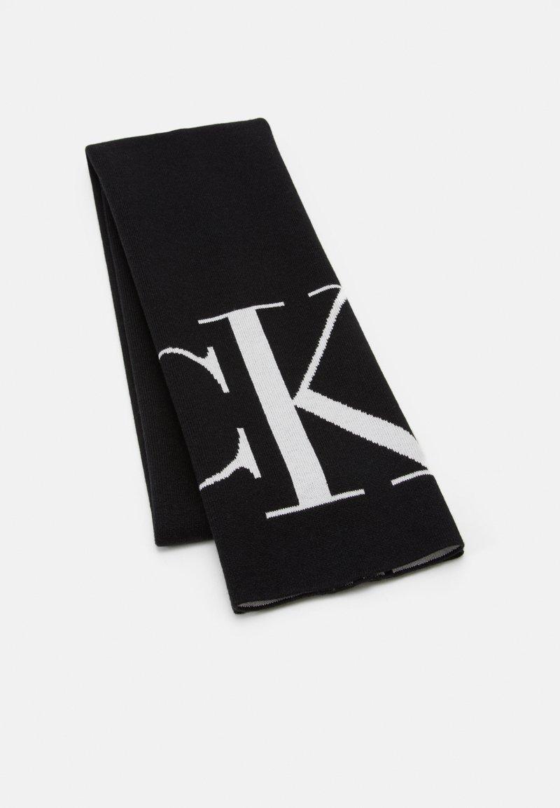 Calvin Klein Jeans - SCARF MONOGRAM - Šála - black