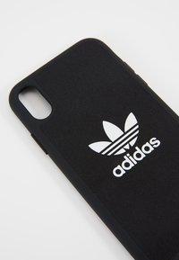 adidas Originals - ADIDAS MOULDED CASE CANVAS - Etui na telefon - black - 2