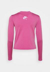 Nike Sportswear - AIR MOCK - Long sleeved top - purple smoke/fireberry/white - 7