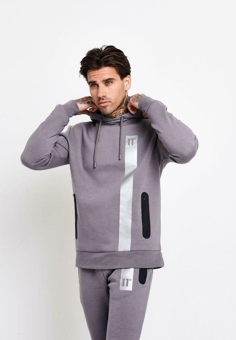 11 DEGREES - Jersey con capucha - grey