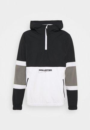 Giacca leggera - black/white/grey