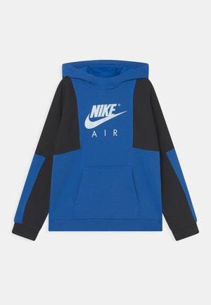 AIR - Sweatshirt - signal blue/dark obsidian/white