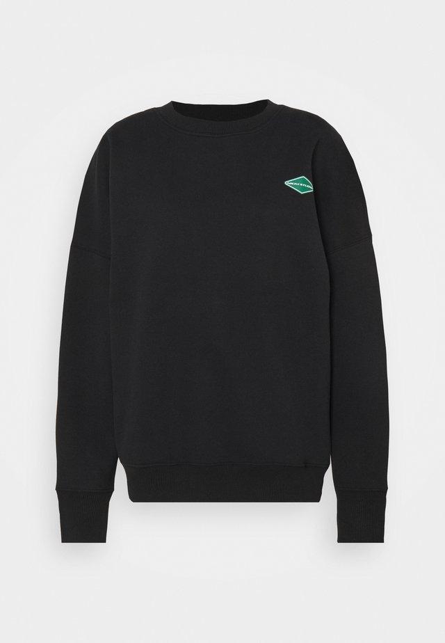 LOGOCOLLAGECREWNECK - Sweatshirt - black