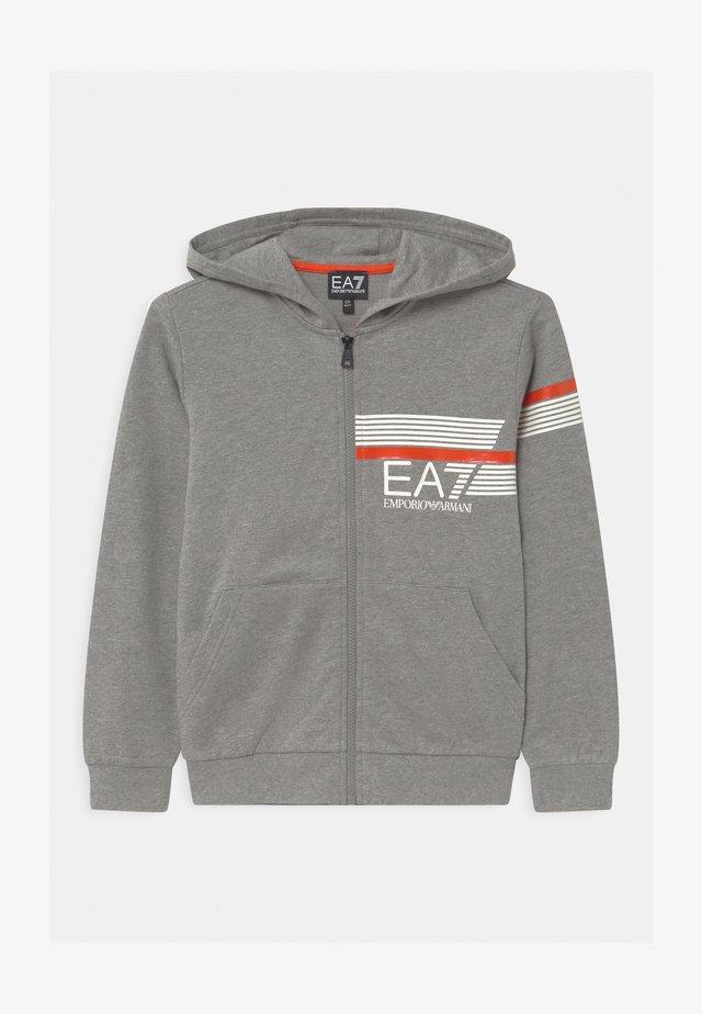EA7  - Felpa aperta - medium grey melange