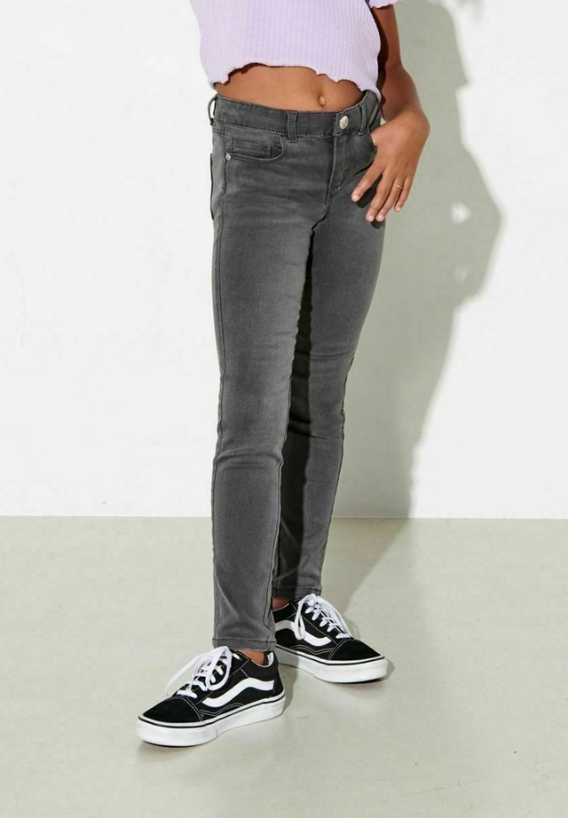 Slim fit jeans - dark grey denim