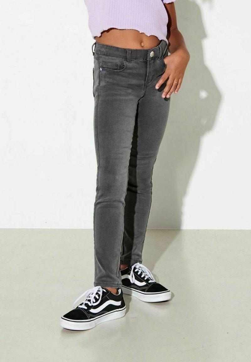 Kids ONLY - Slim fit jeans - dark grey denim