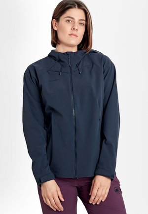 SAPUEN  - Soft shell jacket - blue/dark blue
