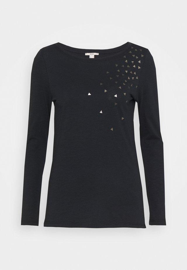 CORE - Maglietta a manica lunga - black