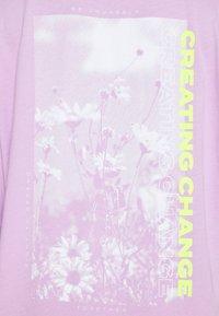 Even&Odd - T-shirt con stampa - lilac - 4