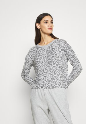 SNIT CREW NECK - Pyjama top - heather grey