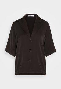 DESIGNERS REMIX - EMME  - Button-down blouse - black - 3