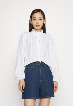 YASFRILA - Button-down blouse - bright white