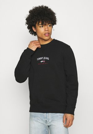 TIMELESS CREW UNISEX - Sweatshirt - black
