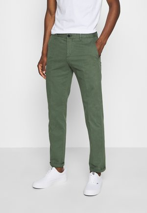 FLEX SLIM FIT PANT - Trousers - green