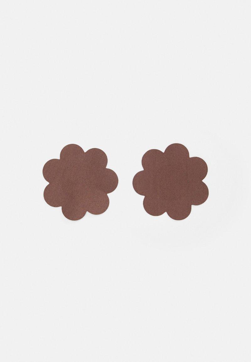 MAGIC Bodyfashion - SECRET COVERS 10 PACK - Jiné doplňky - chocolate