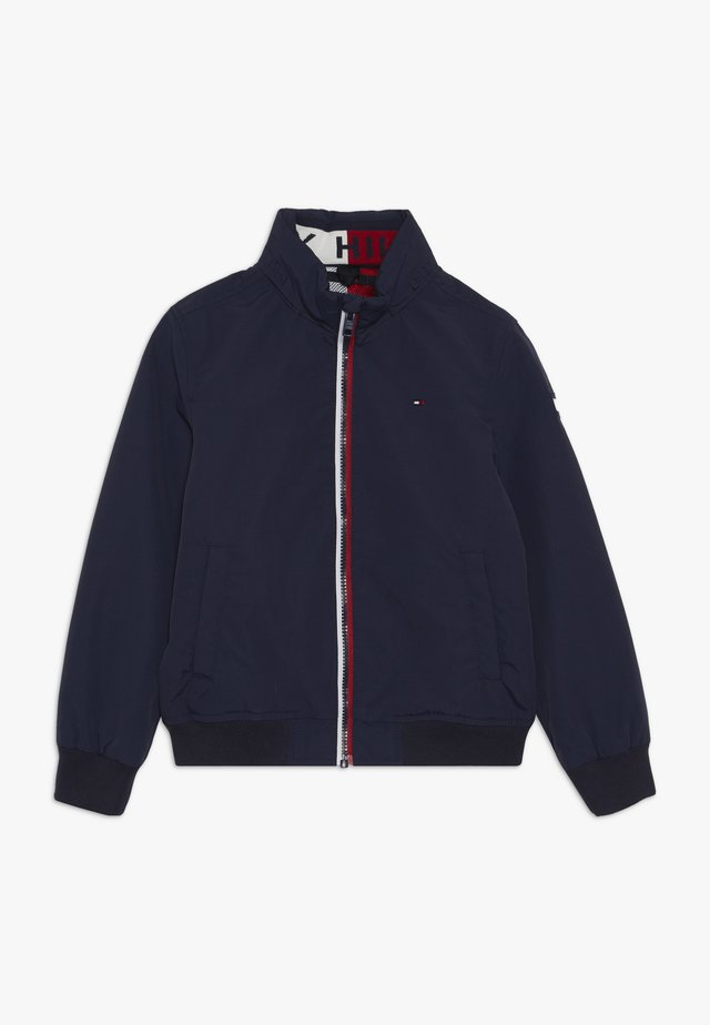 ESSENTIAL JACKET - Lehká bunda - blue