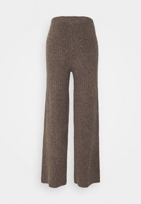 Noisy May - NMSALLY LOOSE PANT - Bukse - taupe gray - 6