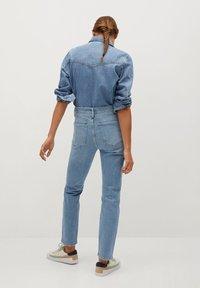 Mango - GISELE - Jeans slim fit - mittelblau - 2