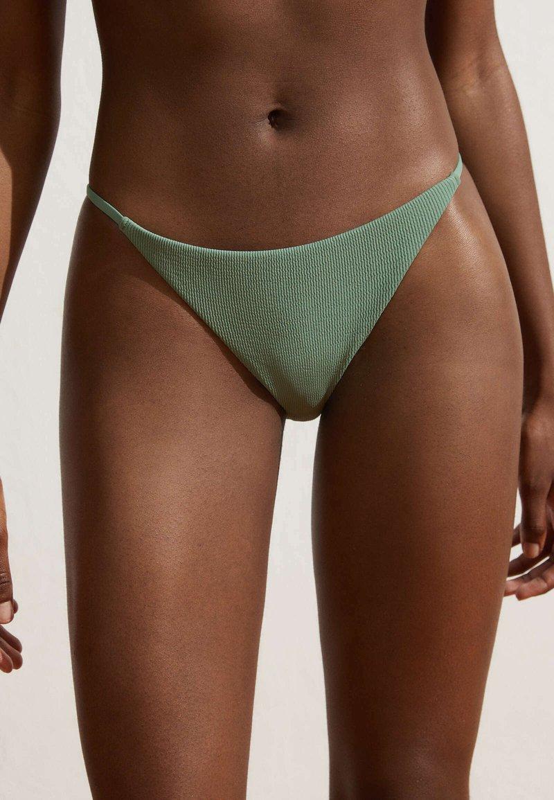 OYSHO - Bikini bottoms - green