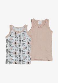 Jacky Baby - VEST ANIMALS 2 PACK - Undershirt - light pink - 3