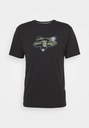 PREDATOR TECH TEE - T-Shirt print - black
