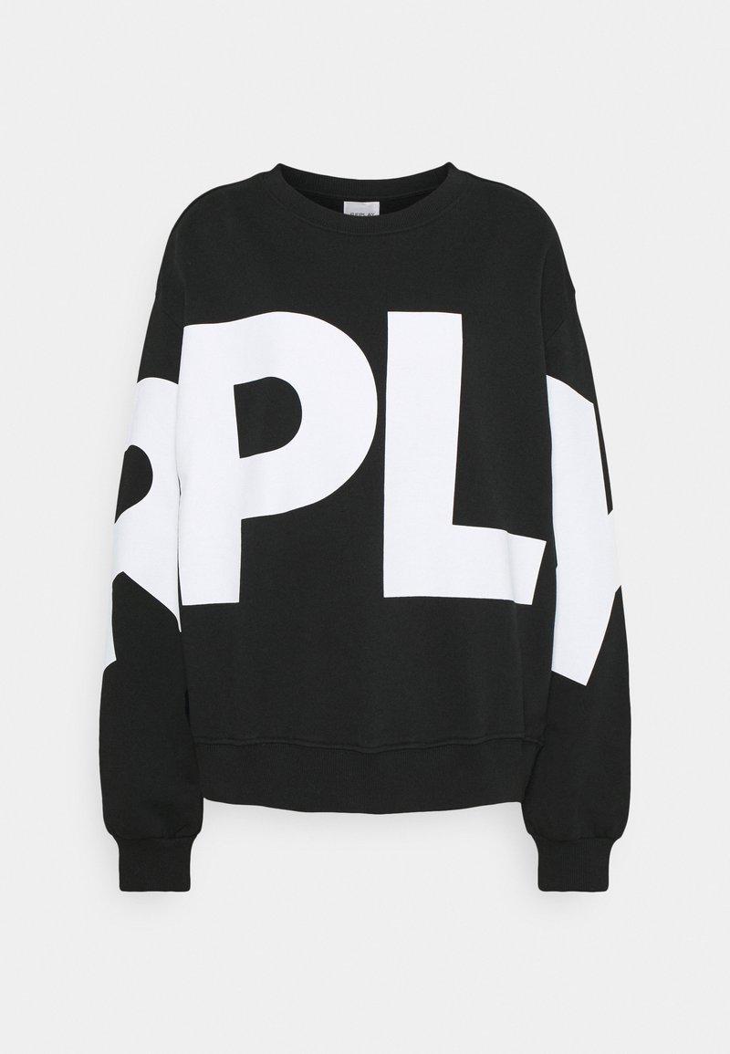 Replay - Sweatshirt - black
